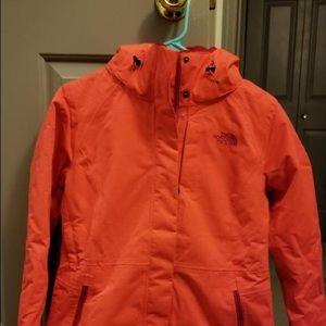 North Face winter coat.